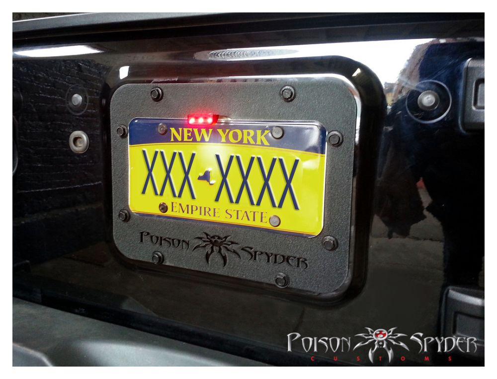 Poison Spyder Customs Tramp Stamp Powdercoated Wrangler Jk