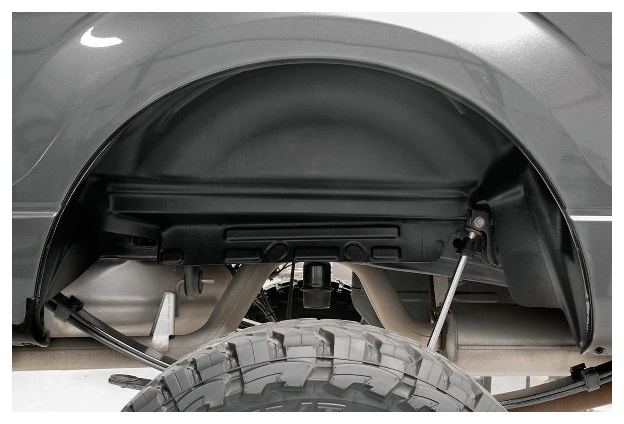 Fender Liner Material : Rough country rear wheel well liners ford f
